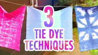 3 DIY Tie Dye Projects - HGTV Handmade