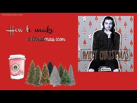 How To Make A Christmas Icon [ft. Zayn Malik]