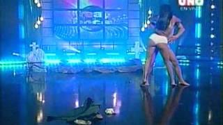 Canal Uno   Bailalo   Yolanda Lopez   Strip Dance
