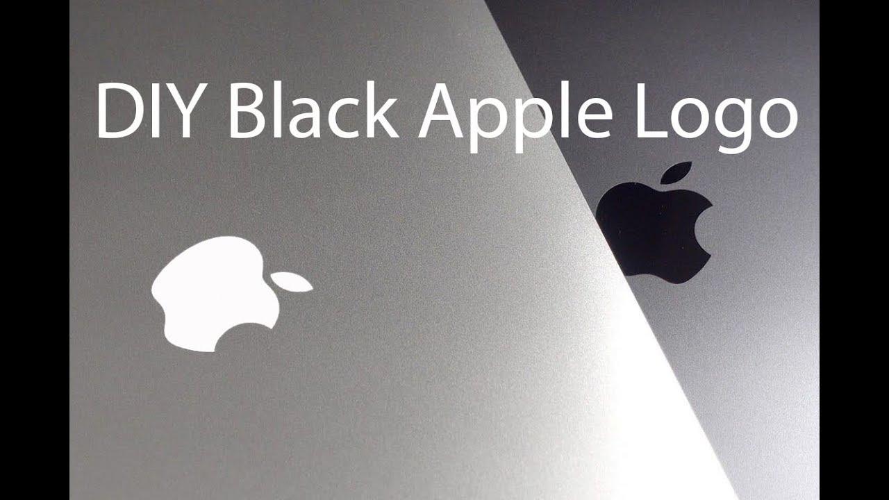 DIY- Black Apple Logo for Your Macbook Pro