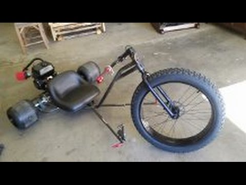motorized custom drift trike build part 3 youtube - Drift Trike Frame