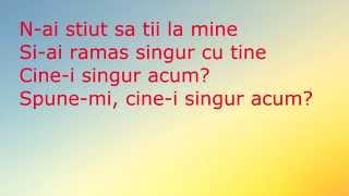 Giulia - Ghici cine? (lyrics,versuri,karaoke)