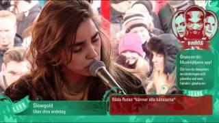 Slowgold - Utan dina andetag | Live 🌟 Musikhjälpen 2016 🌟