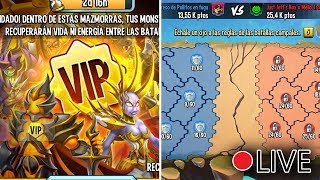 2 CUENTAS A LA VEZ!! BATTLEGROUND Y MAZMORRA VIP! - Monster Legends