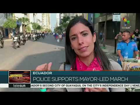 FtS 10-10-19: Ecuador: Massive march through center of Quito