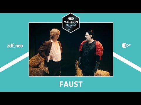 Letzte Stunde vor den Ferien: Faust   NEO MAGAZIN ROYALE mit Jan Böhmermann - ZDFneo