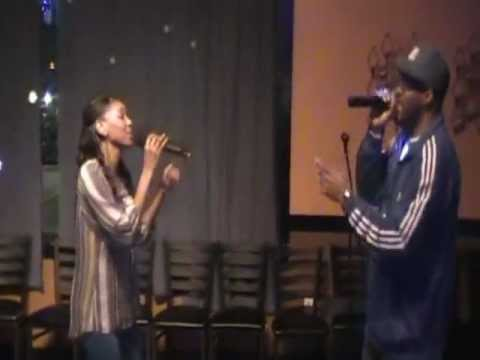 If It's Love...LaTreshia & Bobby B-Smooth-Azure K&G (Karaoke & Games) Midweek BDay Edition