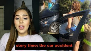 STORY TIME: The Car Accident (Live Footage)