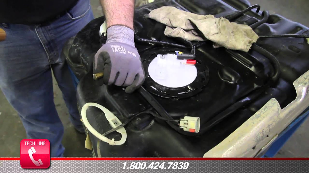 How to Install Fuel Pump Assembly E7196M in a 2005  2007 Dodge Grand Caravan  YouTube