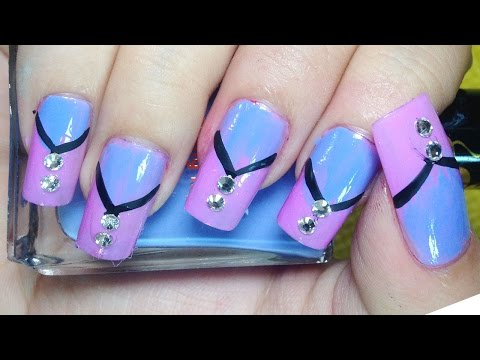 Nail Art Paint Design – Nail Art Ideas – Pretty Nails, Easy Ways Creative – Chamroeun Part #62