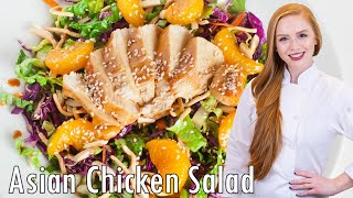Asian Chicken Salad +non-stick Pan Review!