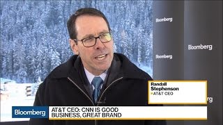 AT&T CEO Says CNN Is a Good Business And Great Brand
