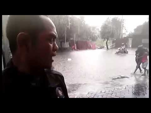 Flood  In Semarang  Indonesia To day