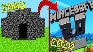 A EVOLUÇÃO DO MINECRAFT...