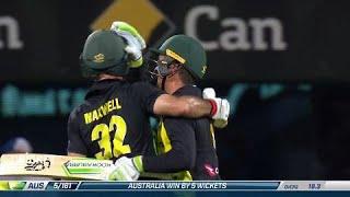 Second T20: Australia v England