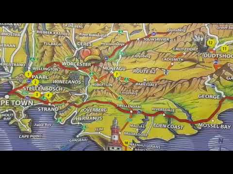 Map Of Route 62 South Africa.Directions To Montagu On Route 62 Western Cape South Africa