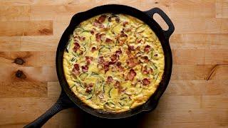 30-Minute Zucchini And Corn Frittata • Tasty