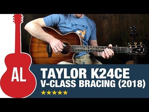 Taylor K24ce with V-Class Bracing!