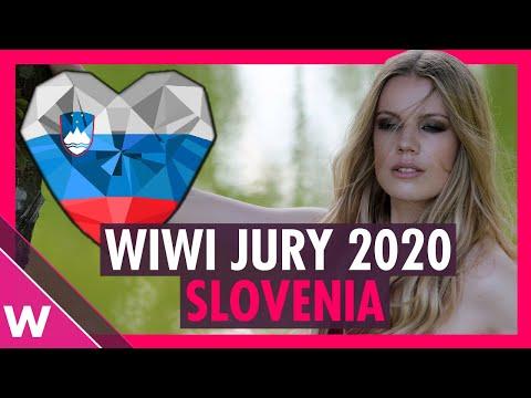 """Eurovision Review 2020: Slovenia - Ana Soklič """"Voda""""   WIWI JURY"""