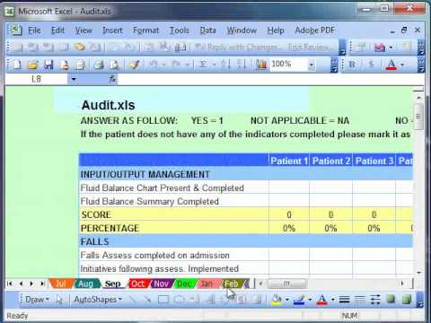 working with microsoft excel templates youtube