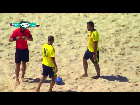 FIFA beach soccer   Final 2017  USA   COLOMBIA
