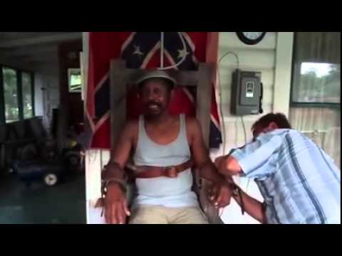 Drunk Black Man Allows Racist White Man To Put Him In Electric Chair And Flip The Switch