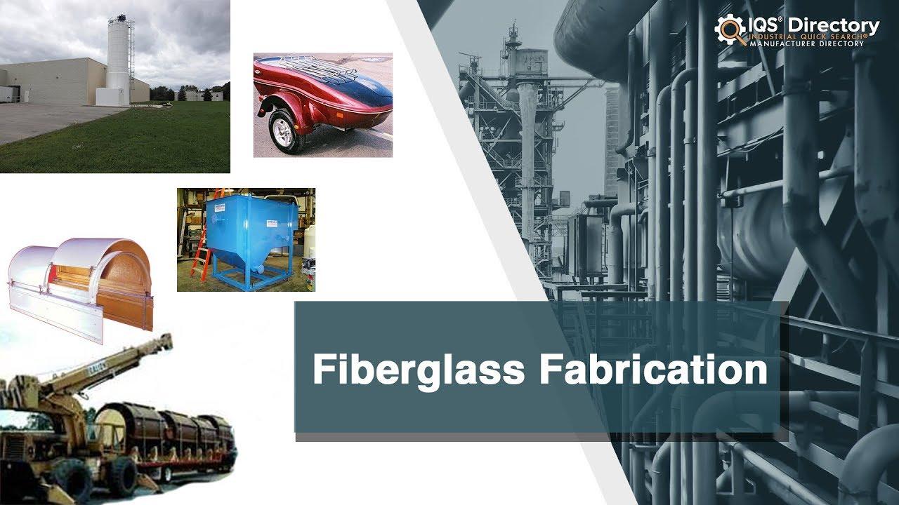 Fiberglass Fabrication Manufacturers Suppliers