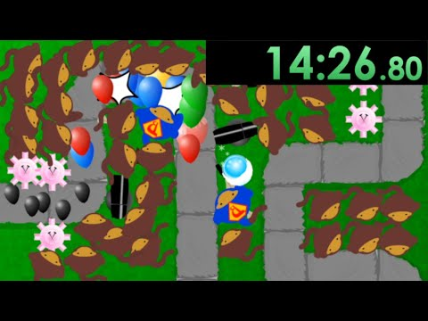 So I decided to speedrun Bloons Tower Defense 1 and the nostalgia hit hard