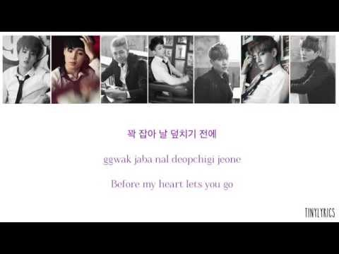 BTS (방탄소년단) - Boy In Luv (상남자) [Hangul/ Romanization/ English Color Coded Lyrics]