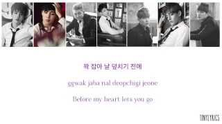 BTS (방탄소년단) - Boy In Luv (상남자) [Hangul/ Romanization/ English Color Coded Lyrics]