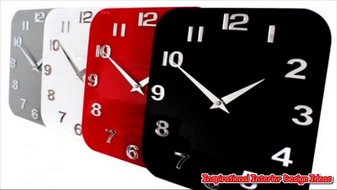 Contemporary Kitchen Clocks