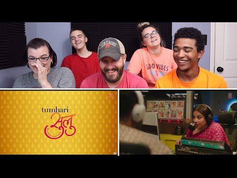 Tumhari Sulu | Official Trailer REACTION! | Vidya Balan
