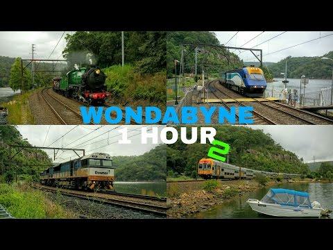 Transport for NSW Vlog No.933 Wondabyne 1 Hour - 2