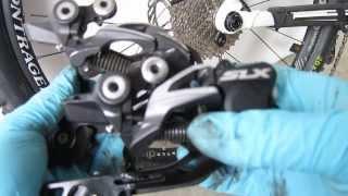 Shimano SLX Shadow Plus (+) Derailleur M675 Install - Trek Fuel EX 7