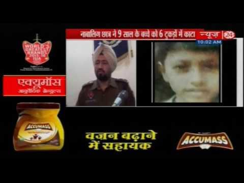 16-yr-old kills 9-yr-old, chops body into 6 parts, eats flesh, drinks blood
