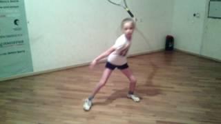 Уроки тенниса Полина Березина 7 лет! Заури Абуладзе