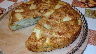 Пирог яблочный простой рецепт
