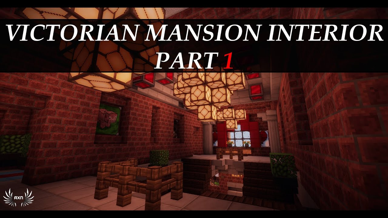 Minecraft Tutorials Victorian Mansion Interior Part 1 12 YouTube