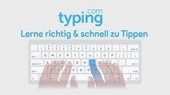 So einfach kannst du 10-Finger-Tippen | Typing.com (Tutorial)