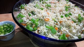 Restaurant Style Vegetable Fried Rice / How to Cook Rice Perfectly for Fried Rice
