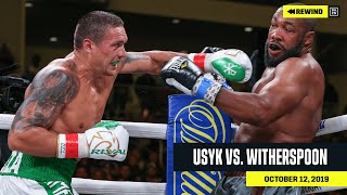 FULL FIGHT | Alexander Usyk vs. Chazz Witherspoon (DAZN REWIND)
