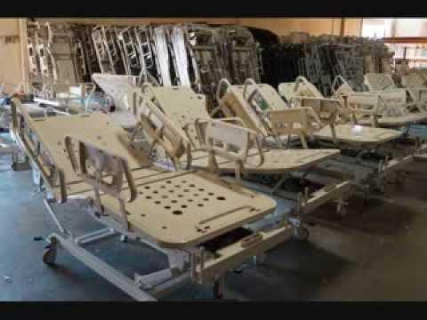 hill rom advanta p1600 hospital beds for sale refurbished youtube. Black Bedroom Furniture Sets. Home Design Ideas