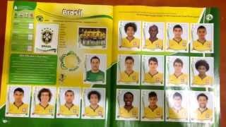 Álbum Copa 2014 COMPLETO ! [ Video Especial ]