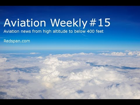 Aviation Weekly #15 - Funding to UAV SMEs, Drone Aerial Filming London, Share The Air, Aer Lingus