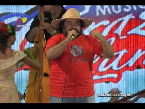 """Gino González en """"Corazón Llanero en Cojedes"""" canta """"Los pobres con Chávez"""""""