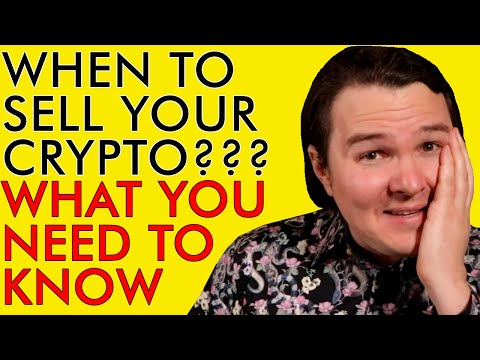 WHEN AND HOW TO SELL YOUR CRYPTO - EVERYTHING YOU NEED TO KNOW!