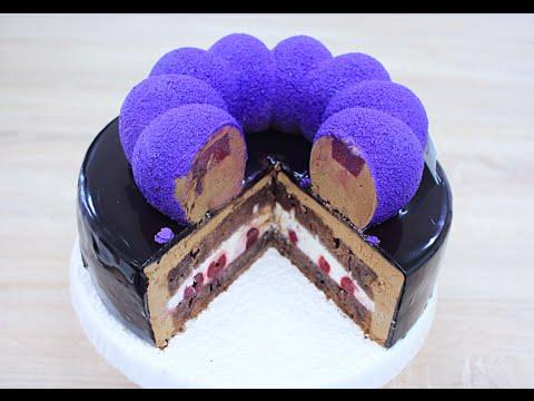 Муссовый торт Чёрный лес / Black Forest Cake