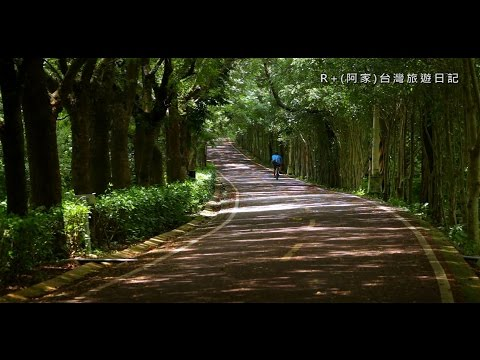 東豐自行車綠廊與3D彩繪石岡0蛋月台 DongFeng bike green corridor and 3D street painting