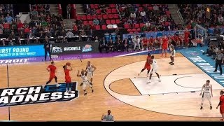 2018 NCAA tournament: Deepest 3-pointers!
