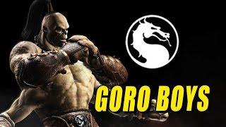 GORO BOYS: Mortal Kombat X Online Revival FINALE!